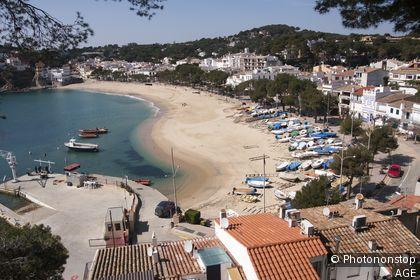 Espagne, Catalogne, province de Gérone, Baix Empordà, Palafrugell, Llafranc
