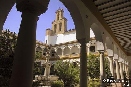 Espagne, Andalousie, province de Cordoue, Lucena, couvent San Francisco