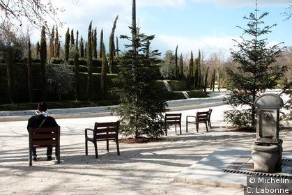 Dans les jardins du Parque del Buen Retiro
