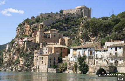 Espagne, Catalogne, province de Tarrgone, Miravet