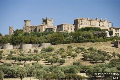 Espagne, Castille La Manche, province de Tolède, Oropesa, château
