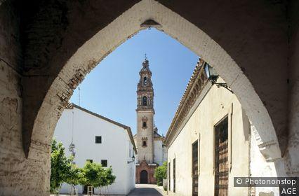 Espagne, Andalousie, province de Cordoue, Palma del Rio, église de l'Assomption