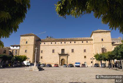 Espagne, Castille La Manche, province de Guadalajara, Pastrana, palais ducal