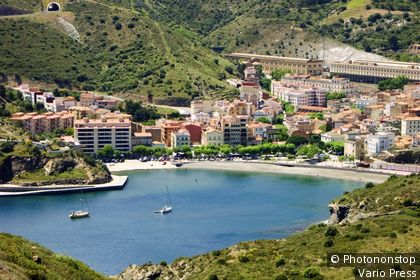 Spain - bay of Portbou. (Portbou, Spain)