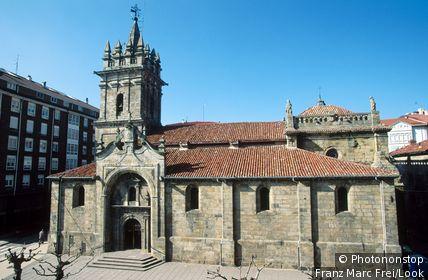 San Sebastian church (XVI-XVIIIth centuries). Reinosa. Cantabria. Spain.