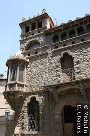 La Casa Bonada, de Juan Rubio i Bellver, disciple d'Antoni Gaudi