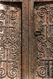 Porte de l'église Sant Pol