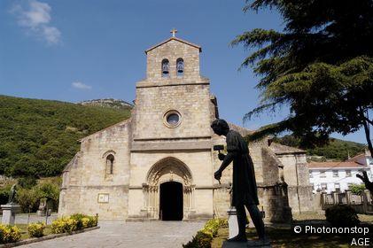 Santa Maria del Puerto, Santoña, Cantabria, Spain
