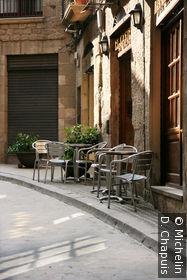 Une rue du vieux quartier