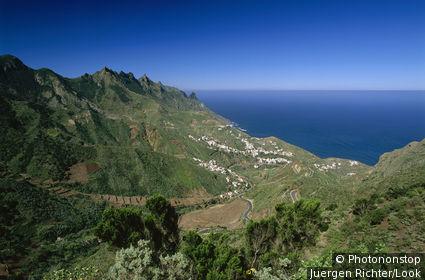 Taganana, village, Macizo de Anaga, Anaga Mountains, Tenerife, Canary Islands, Atlantic Ocean, Spain
