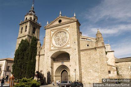 Espagne, Castille la Manche, province de Tolède, Talavera de la Reina, collégiale