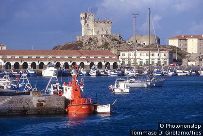 Spain, Andalusia, port of Tarifa