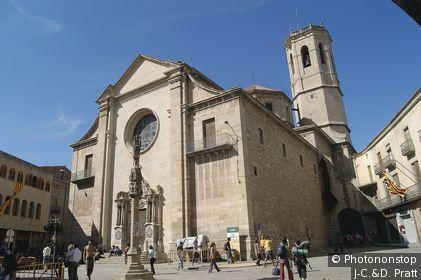Church of Santa Maria de l´Alba,Tarrega, L´Urgell, Lleida, Catalunya (Spain)