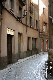 Une des rues du quartier médiéval