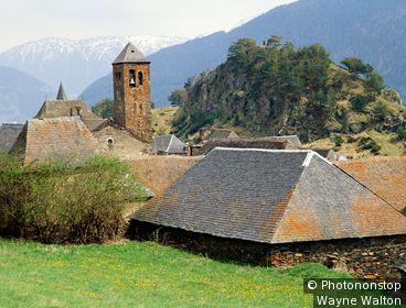 Espagne, Catalogne, Lleida, Val d'Aran, Vilamòs