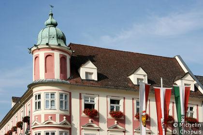La mairie sur Hauptplatz