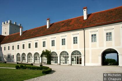 Cour intérieure du château Ennsegg
