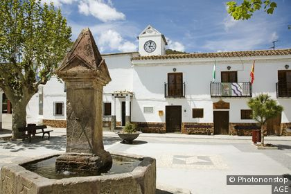 Espagne, Andalousie, province de Grenade, Las Alpujarras, Yegen