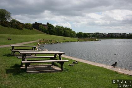 Le lac le long de Kephi Road.