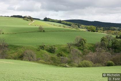 Paysage des Highland.