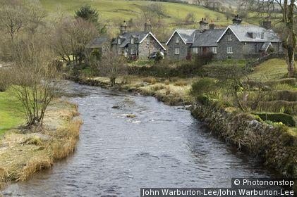 Ysbty Ifan, Betws-y-coed, Wales. Wales, Betws-y-coed, Ysbty Ifan. A village on the side of Conwy river.