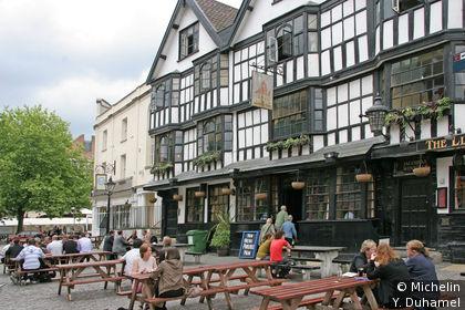L'un des plus vieux pub de Bristol
