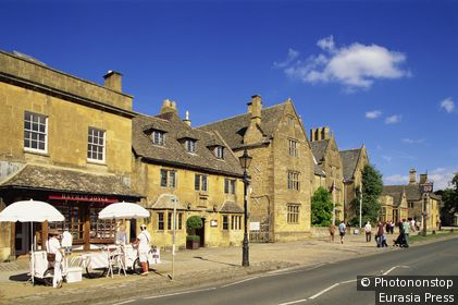 England,Worcestershire,Cotswolds,Broadway,Street Scene