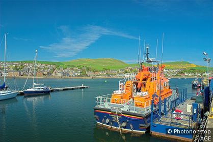 Harbour Campbeltown Argyll & Bute Scotland