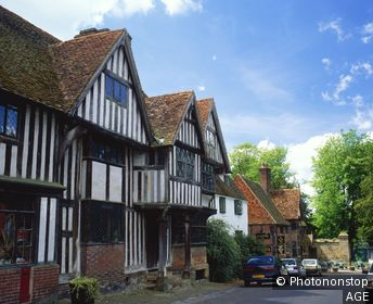 Village of Chiddingstone. Kent. England
