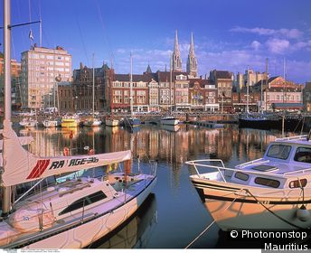 Belgique, Ostende, port de plaisance