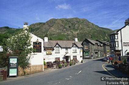 England,Cumbria,Lake District,Coniston Town