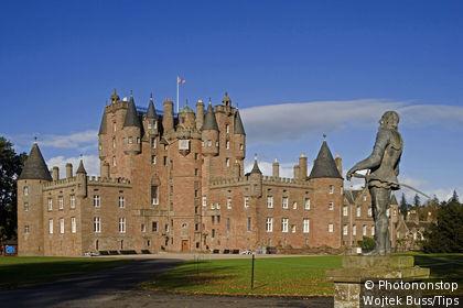 United Kingdom, Scotland, Angus, Glamis castle