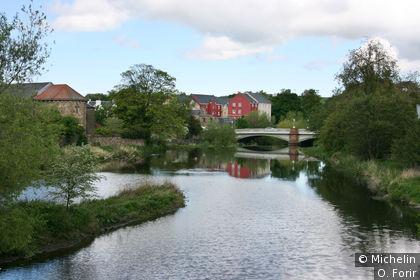 Le long de la rivière près de Nungate Bridge.