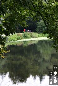 Le lac du Parc.