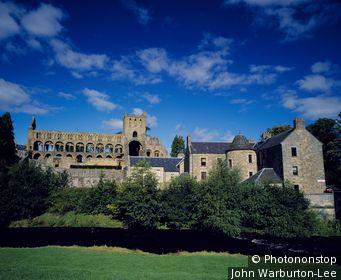 Scotland;Borders - Jedburgh Abbey.