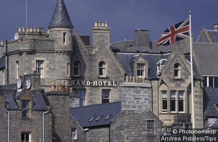 UK , Scotland, Shetland Islands Mainland , Lerwick