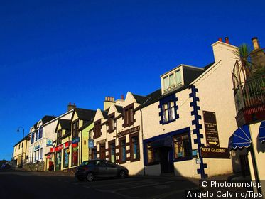 UK, Scotland, Mallaig, Street view