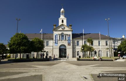 newtownards town hall and conway square county down northern ireland uk the town hall was originally the market house