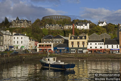 UK, Scotland, Oban, the harbour