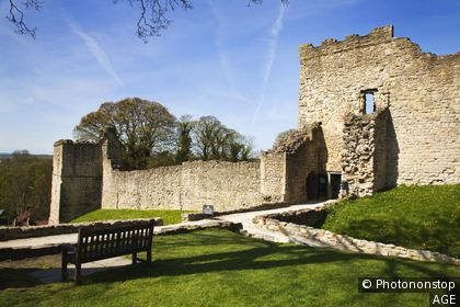 Pickering Castle Pickering North Yorkshire England