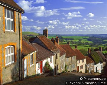 Royaume-Uni;Angleterre;Dorset, Shaftesbury - United Kingdom, UK, England, Dorset, Shaftesbury, Golden Hill