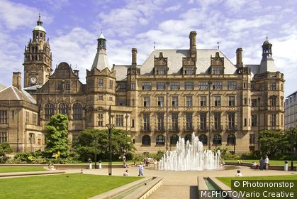 Sheffield Town Hall is a building in the City of Sheffield, England. The building is used by the City Council, and also contains a publicly displayed collection of silverware.