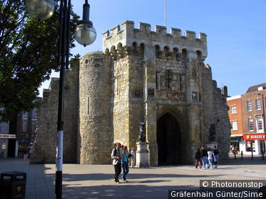 United Kingdom, UK, England, Hampshire, Southampton, Bargate