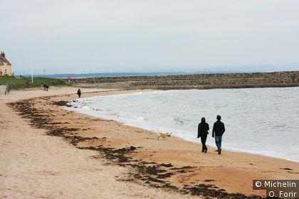 La plage à St Andrews.