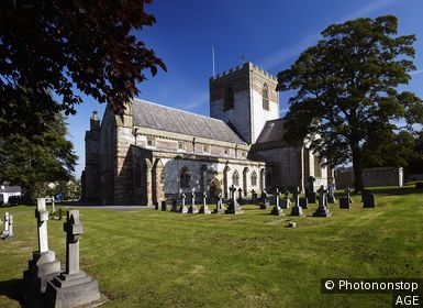 St Asaph Cathedral, St Asaph, North Wales, UK
