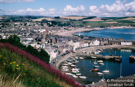 Same harbour during the day - Stonehaven, Aberdeenshire, Scotland