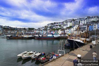 United Kingdom, UK, England, Devon, Torquay, The harbour