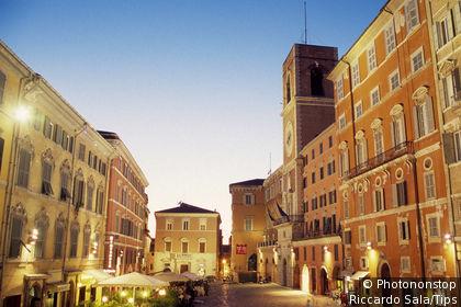 Italy, Marche, Ancona,Piazza del Plebiscito