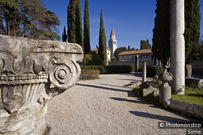 Italie, Frioul-Vénétie-Julienne, Aquileia, Zone Méditerranéenne, Province de Udine - Exterior of the Archaeological museum