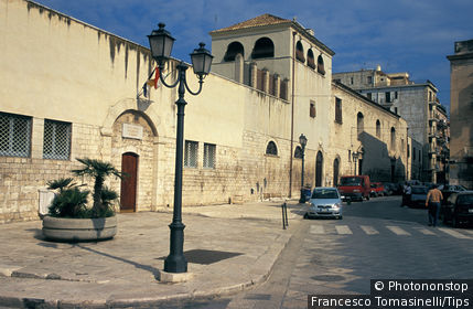 Italy, Apulia, Barletta, San Ruggero monastery